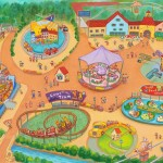 東武動物公園に新エリア 「ハートフルタウン」がオープン