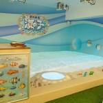 ナムコが最新テク「屋内砂浜 海の子」を関西と東北に初導入