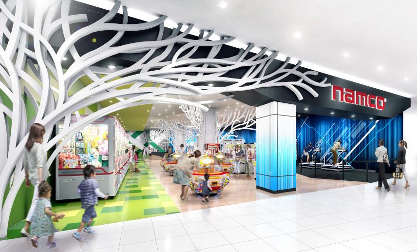 VR体験もできる、namcoイオンモール長久手店がオープン