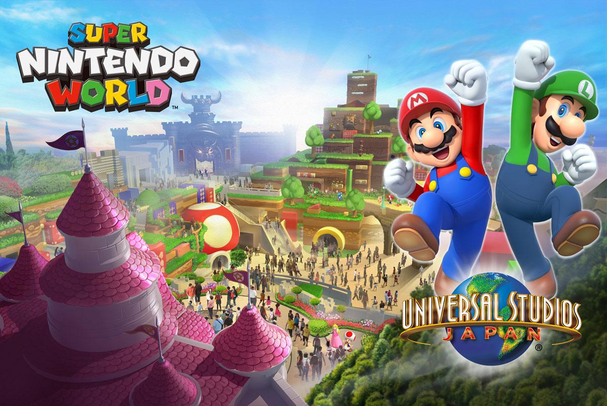 USJ、世界初となる「任天堂のテーマエリア」オープンを決定