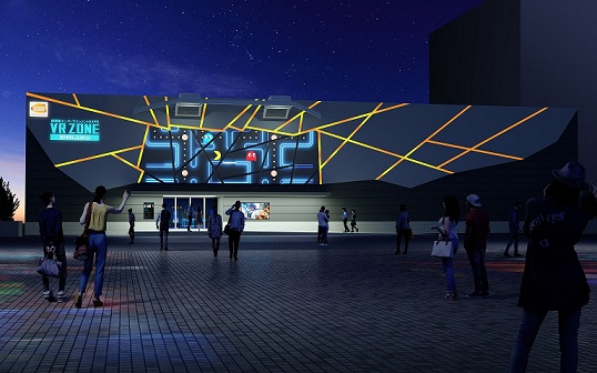 ナムコの国内最大級「VR ZONE SHINJUKU」がいよいよオープン