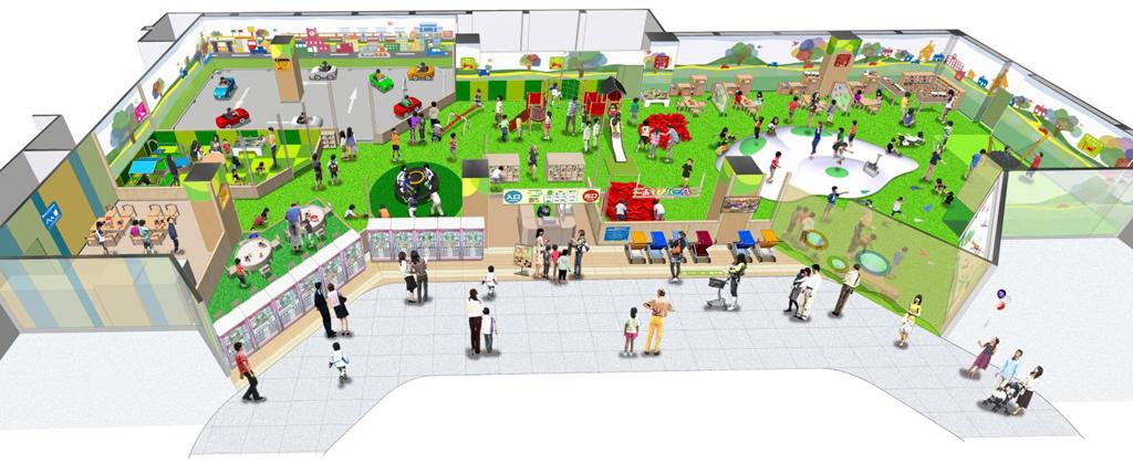 ナムコの「あそびパークPLUS」が群馬県高崎市にオープン